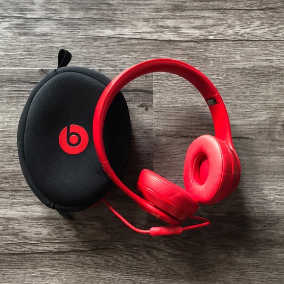 Beats Solo 2 Wired Red | Beats Other Solo 2 Wired Headphones In Red Poshmark